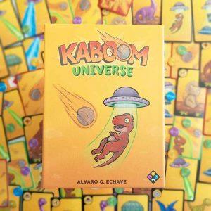 Kaboom Universe salva a los dinosaurios