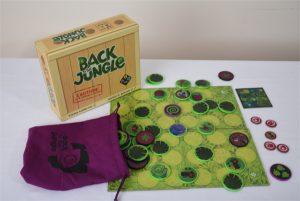 Back to the jungle original animals original board game
