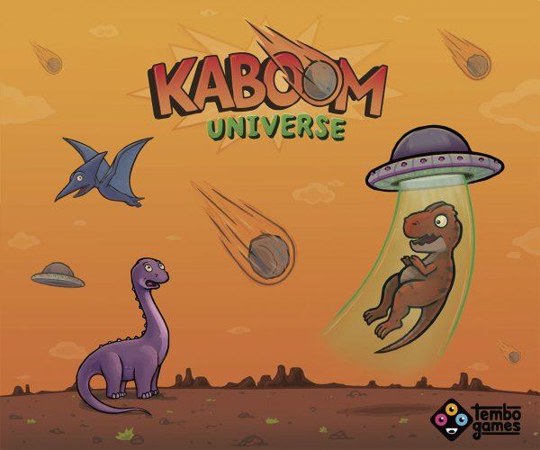 Kaboom universe juego de cartas dinamico