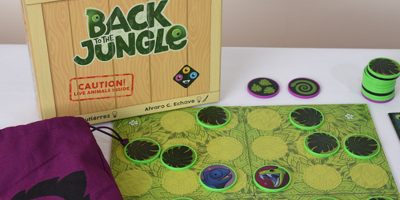 Back To The Jungle: The original animals board game
