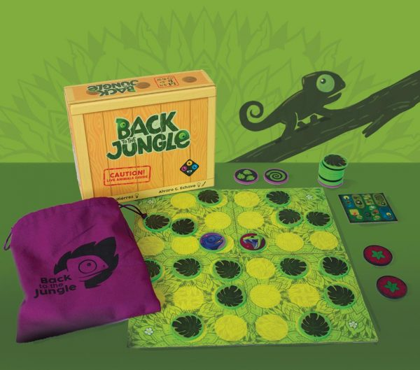 BACK TO THE JUNGLE COMPLETE BOARD GAME