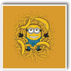 American Minion decorative art print
