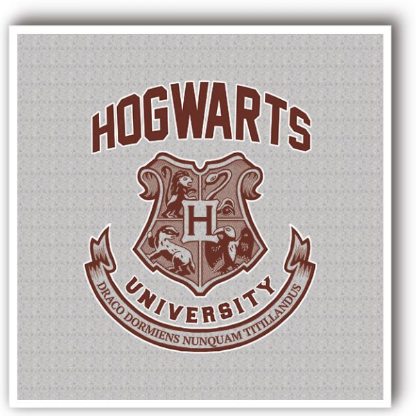 Harry Potter Hogwarts Decorative art print