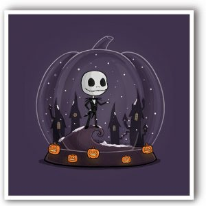 Jack Skellington original art print