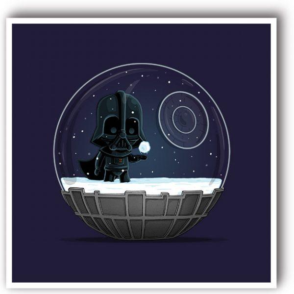 Darth Vader Star wars art print