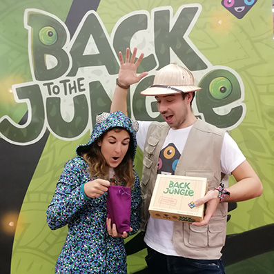back to the jungle juego de mesa equipo